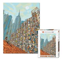 Пазл Heye,1000 элементов - Будущее города