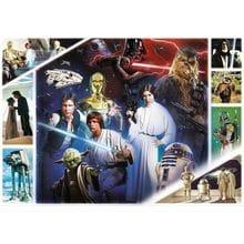 Пазл Trefl, 1000 элементов - В далекой галактике, Star Wars