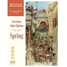 Пазл Pomegranate, 1000 элементов - Лоуренс Альма-Тадема: Весна