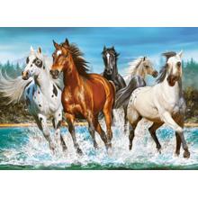Пазл Castorland, 200 элементов - Лошади