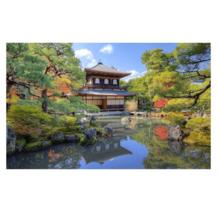 Пазл Pintoo, 1000 элементов - Храм у озера в Киото