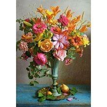 Пазл Castorland, 500 элементов - Осенние цветы