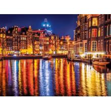 Пазл Clementoni, 500 элементов - Амстердам вечером
