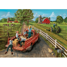 Пазл Cobble Hill, 1000 элементов - Фермерский грузовичок