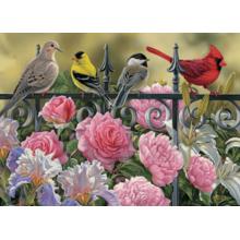 Пазл Cobble Hill, 1000 элементов - Птицы на ограде