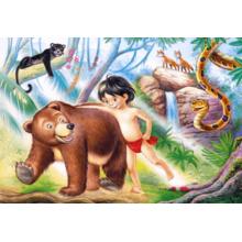 Пазл Castorland, 60 элементов - Книга джунглей