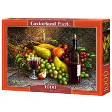 Пазл Castorland, 1000 элементов - Фрукты и вино