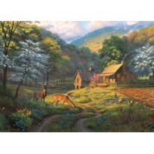 Пазл Cobble Hill, 1000 элементов - Деревенская идилия