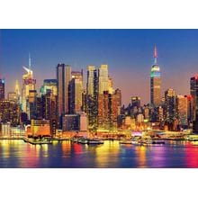 Пазл Educa, 1500 элементов - Манхэттен ночью