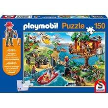 Пазл Schmidt, 150 элементов - Playmobil Дом на дереве