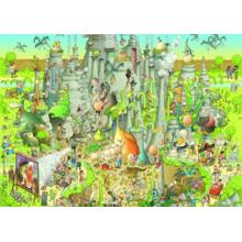 Пазл Heye, 1000 элементов - Парк юрского периода
