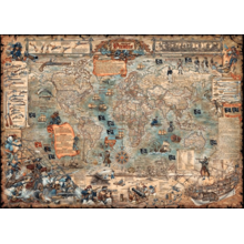 Пазл Heye, 3000 элементов - Пиратская карта
