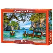 Пазл Castorland, 1500 элементов - Красивая бухта. Таиланд