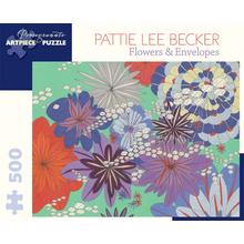 Пазл Pomegranate, 500 элементов - Беккер: Цветы И Конверты