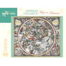 Пазл Pomegranate, 1000 элементов - А.Целлариус: Карта небес