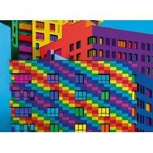 Пазл Clementoni, 500 элементов - Цвета-квадраты