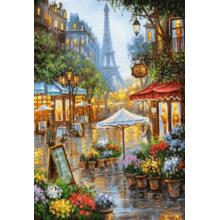 Пазл Castorland, 1000 элементов - Весенние цветы, Париж