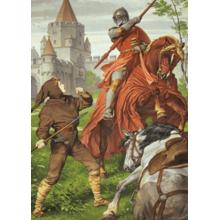 Пазл Heye, 1000 элементов - Рыцарь Парсифаль