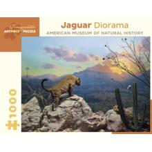 Пазл Pomegranate, 1000 элементов - Диорама. Ягуар