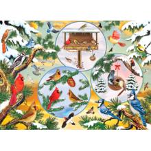 Пазл Cobble Hill, 500 элементов - Магия зимних птиц