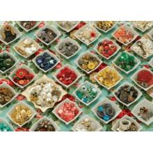 Пазл Cobble Hill, 1000 элементов - Бабушкины пуговицы