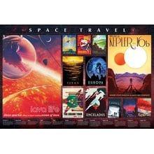 Пазл Cobble Hill, 2000 элементов - Постеры - Космические путешествия
