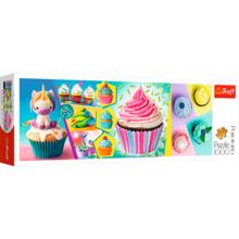 Пазл Trefl, 1000 элементов - Красочные кексы