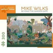 Пазл Pomegranate, 300 элементов - Майк Уилкс: За воротами сада