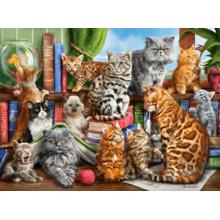 Пазл Castorland, 2000 элементов - Кошки
