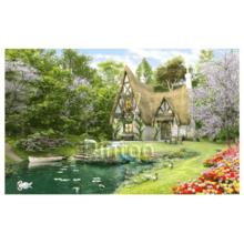 Пазл Pintoo, 4000 элементов - Д. Дэвисон: Весна на озере