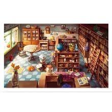 Пазл Pintoo, 1000 элементов - Л. Мэйд: Книжный магазин