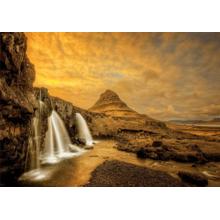 Пазл Educa, 1000 элементов - Водопад Киркьюфетльсфос, Исландия