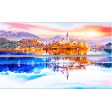 Пазл-набор Pintoo, 432 элемента - Озеро. Словения