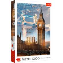 Пазл Trefl, 1000 элементов - Лондон на рассвете - коллаж