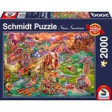 Пазл Schmidt, 2000 элементов - Сокровище драконов
