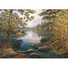 Пазл Cobble Hill, 1000 элементов - Олени на озере