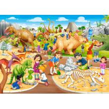 Пазл Castorland, 70 элементов - Парк динозавров