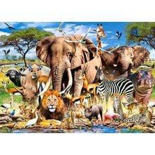 Пазл Castorland, 260 элементов - Животные Саванны