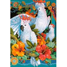 Пазл Castorland, 1500 элементов - Белые попугаи