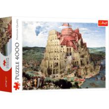 Пазл Trefl, 4000 элементов - Вавилонская башня. Брейгель