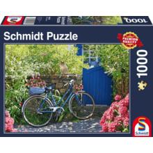 Пазл Schmidt, 1000 элементов - Прогулка на велосипеде