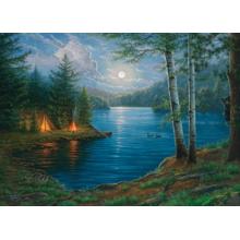 Пазл Cobble Hill, 1000 элементов - Ночь на озере
