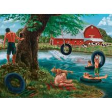 Пазл Cobble Hill, 500 элементов - Летом на реке
