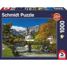 Пазл Schmidt, 1000 элементов - Рамсау. Бавария