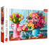 Пазл Trefl, 1500 элементов - Цветы в вазах