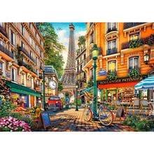 Пазл Trefl, 2000 элементов - Кафе в Париже