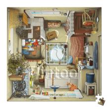 Пазл Pintoo, 256 элементов - Йерка: Кухня