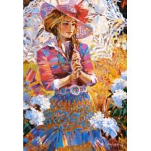 Пазл Castorland, 1500 элементов - Девушка с зонтом