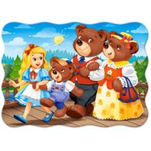 Пазл Castorland, 30 элементов - Три медведя