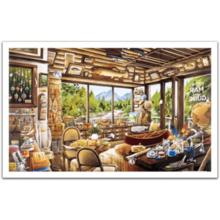 Пазл Pintoo, 1000 элементов - Х. Таникава: Домашний музей рыбалки